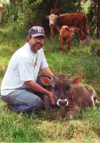 Matt Pearson of Howling Wolf Biodynamic Farm in Hope, NJ